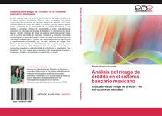 Bookcover of Análisis del riesgo de crédito en el sistema bancario mexicano