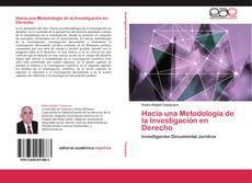 Portada del libro de Hacia una Metodología de la Investigación en Derecho