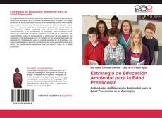 Portada del libro de Estrategia de Educación Ambiental para la Edad Preescolar