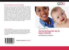 Portada del libro de Caracterización de la lepra infantil