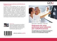 Buchcover von Estenosis de vena pulmonar post ablación por radiofrecuencia