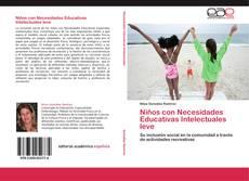 Couverture de Niños con Necesidades Educativas Intelectuales leve
