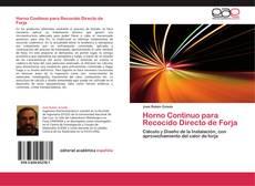 Buchcover von Horno Continuo para Recocido Directo de Forja