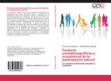 Portada del libro de Factores sociodemográficos y económicos de la participación laboral