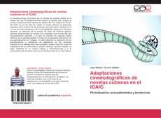 Capa do livro de Adaptaciones cinematográficas de novelas cubanas en el ICAIC