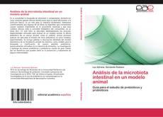 Portada del libro de Análisis de la microbiota intestinal en un modelo animal