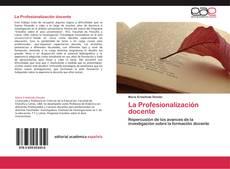 Portada del libro de La Profesionalización docente