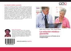 Capa do livro de La relación médico -paciente