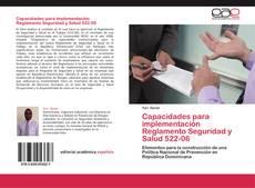 Portada del libro de Capacidades para implementación Reglamento Seguridad y Salud  522-06