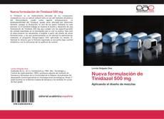 Bookcover of Nueva formulación de Tinidazol 500 mg