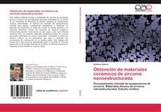 Obtención de materiales cerámicos de zirconia nanoestructurada的封面