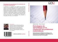 Capa do livro de Estrategias de aprendizaje en la resolución de problemas matemáticos