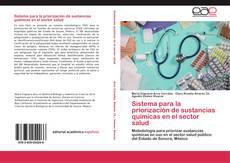 Portada del libro de Sistema para la priorización de sustancias químicas en el sector salud