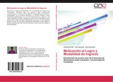 Motivación al Logro y Modalidad de Ingreso的封面
