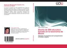 Diseño de SW educativo basado en la taxonomía de Bloom