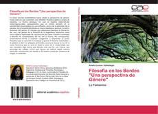"""Portada del libro de Filosofía en los Bordes """"Una perspectiva de Género"""""""