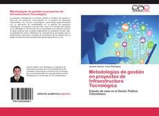 Capa do livro de Metodologías de gestión en proyectos de Infraestructura Tecnológica