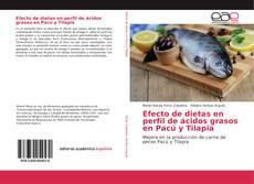 Portada del libro de Efecto de dietas en perfil de ácidos grasos en Pacú y Tilapia