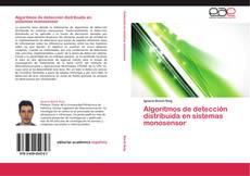 Capa do livro de Algoritmos de detección distribuida en sistemas monosensor
