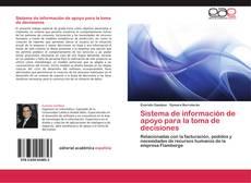 Buchcover von Sistema de información de apoyo para la toma de decisiones
