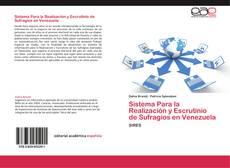 Bookcover of Sistema Para la Realización y Escrutinio de Sufragios en Venezuela