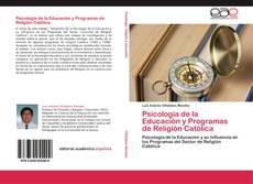 Psicología de la Educación y Programas de Religión Católica的封面