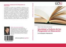 Portada del libro de Identidad y Cultura de los Posgrados en Educación