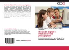 Portada del libro de Inclusión digital e intervenciones pedagógicas