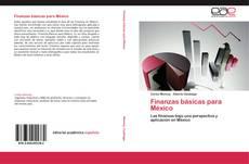 Обложка Finanzas básicas para México
