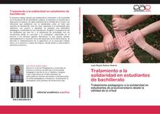 Bookcover of Tratamiento a la solidaridad en estudiantes de bachillerato