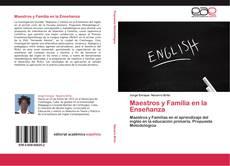 Capa do livro de Maestros y Familia en la Enseñanza