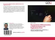 Portada del libro de Ecuaciones Diferenciales y Aplicaciones a la Ingeniería Civil