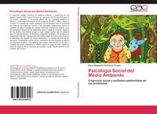 Bookcover of Psicología Social del Medio Ambiente