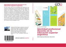 Portada del libro de Identidad profesional docente en la educación superior argentina