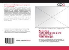 Portada del libro de Acciones metodológicas para preparar los metodologos