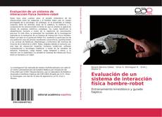 Обложка Evaluación de un sistema de interacción física hombre-robot