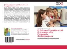 Portada del libro de El Enfoque Vigotskiano del Curriculum en la Pedagogía Contemporánea