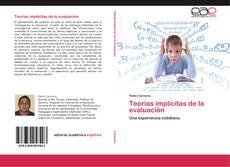 Portada del libro de Teorías implícitas de la evaluación