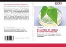 Bookcover of Diversidad de rizobios nativos de Venezuela