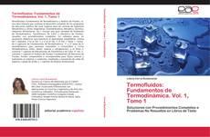 Termofluidos: Fundamentos de Termodinámica.  Vol. 1, Tomo 1 kitap kapağı