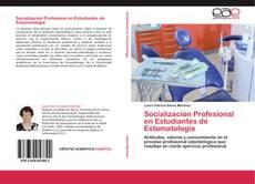 Portada del libro de Socialización Profesional en Estudiantes de Estomatología