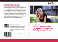 Copertina di Tareas Docentes para Favorecer el Aprendizaje de la Asignatura Costo
