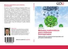 Portada del libro de Métodos matemáticos para sistemas bioinspirados