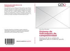 Sistema de indicadores de competitividad kitap kapağı