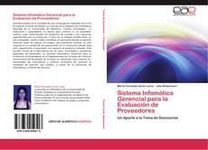 Capa do livro de Sistema Infomático Gerencial para la Evaluación de Proveedores