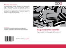 Buchcover von Màquines i mecanismes