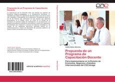 Bookcover of Propuesta de un Programa de Capacitación Docente