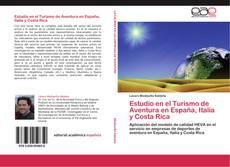 Portada del libro de Estudio en el Turismo de Aventura en España, Italia y Costa Rica