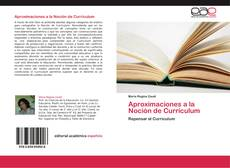 Bookcover of Aproximaciones a la Noción de Currículum