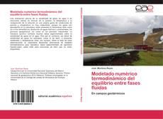Capa do livro de Modelado numérico termodinámico del equilibrio entre fases fluidas